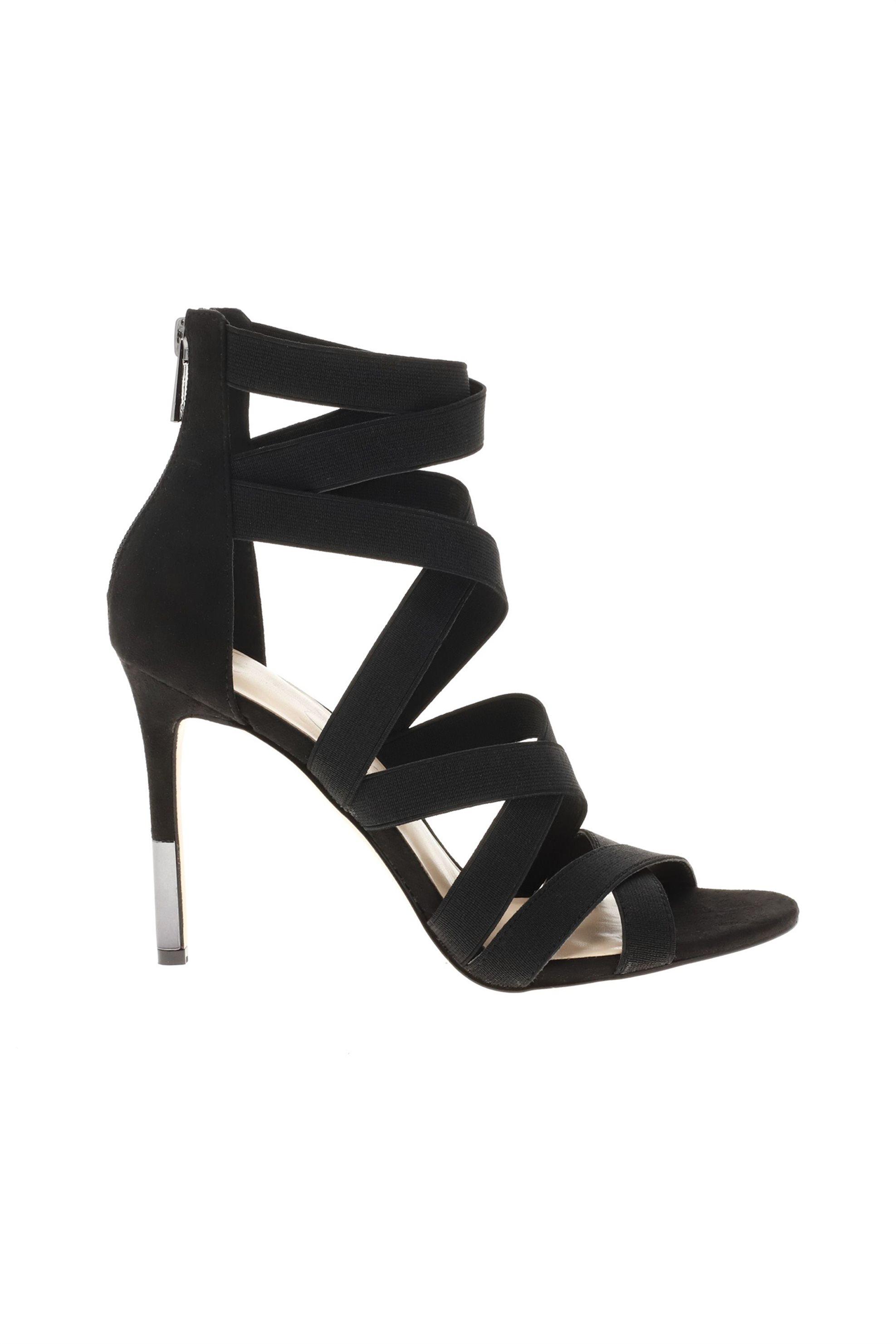 b357e033f62 Notos Jessica Simpson γυναικεία ψηλοτάκουνα πέδιλα με λουράκια από λάστιχο  – JYRA2 ELSTGR – Μαύρο