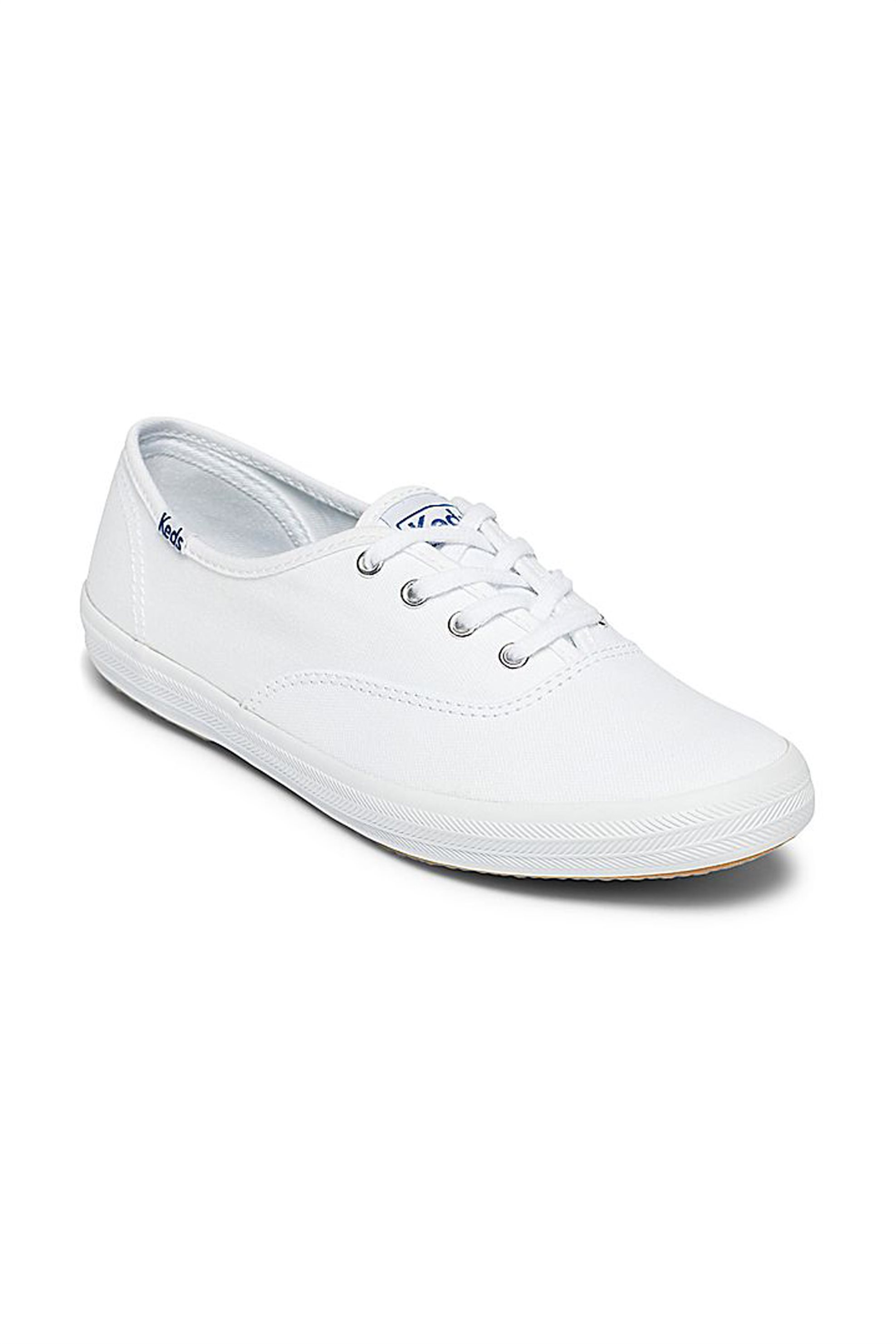 Notos Γυναικεία sneaker Champion core canvas Keds – WF34000 – Λευκό 3ab4ebde549