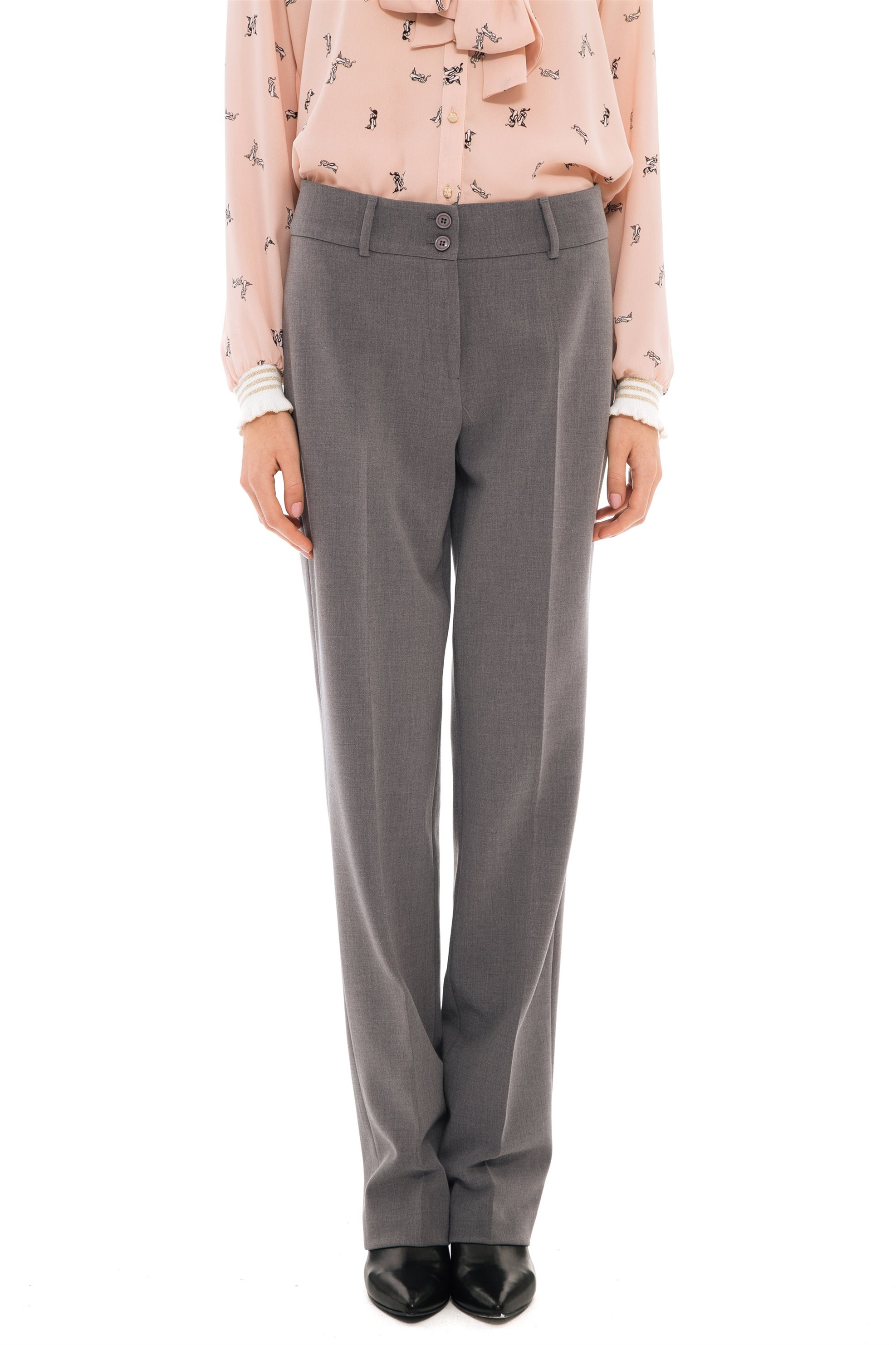 3e2eec27ad0 Notos Bella P γυναικείο παντελόνι υφασμάτινο σε κλασσική γραμμή -  21.182.Β03.103 - Γκρι