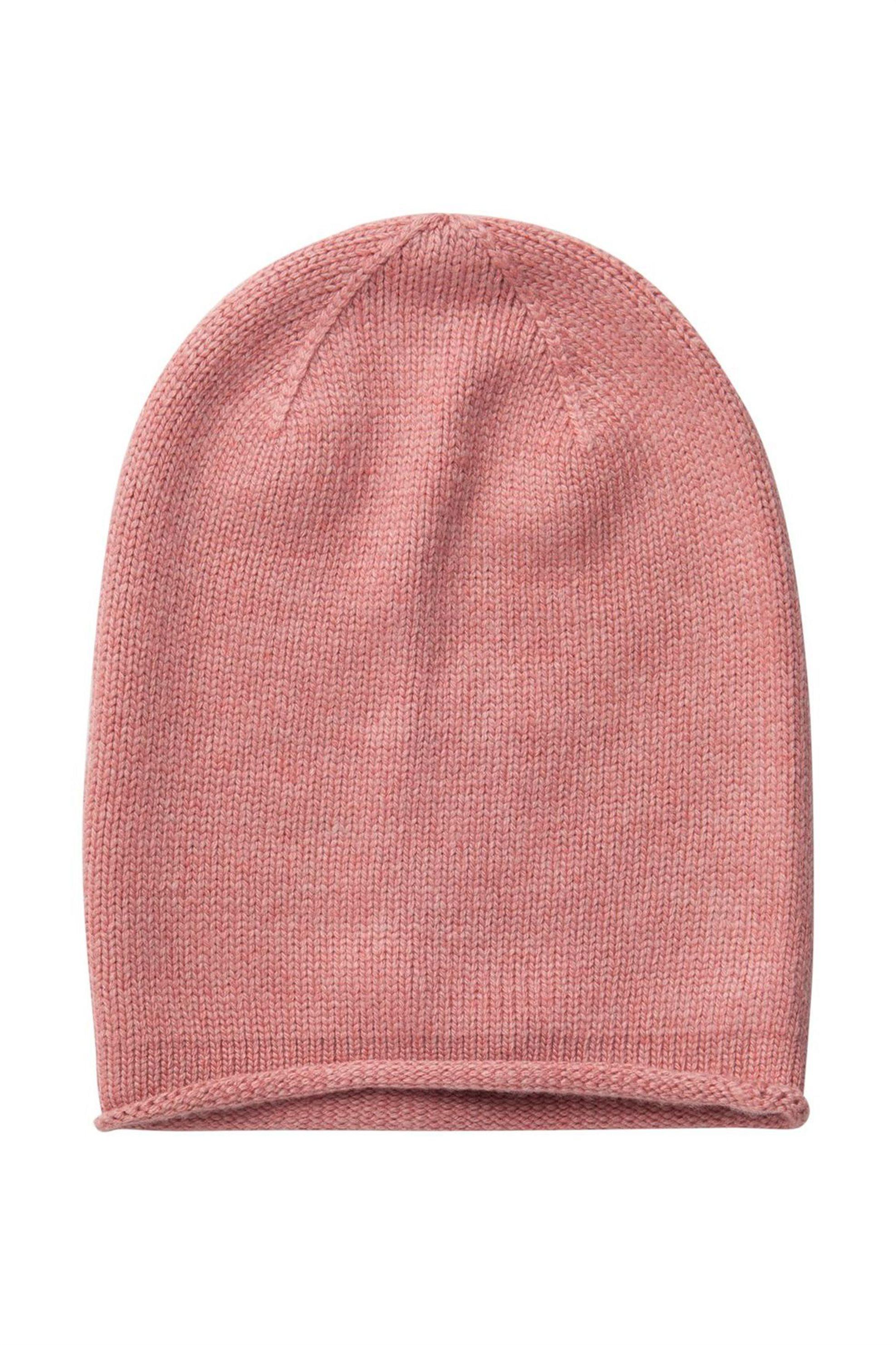 PIECES σκούφος cashmere Beanie μονόχρωμος - 17067018 - Ροζ γυναικα   αξεσουαρ   καπέλα  σκούφοι   αξεσουάρ