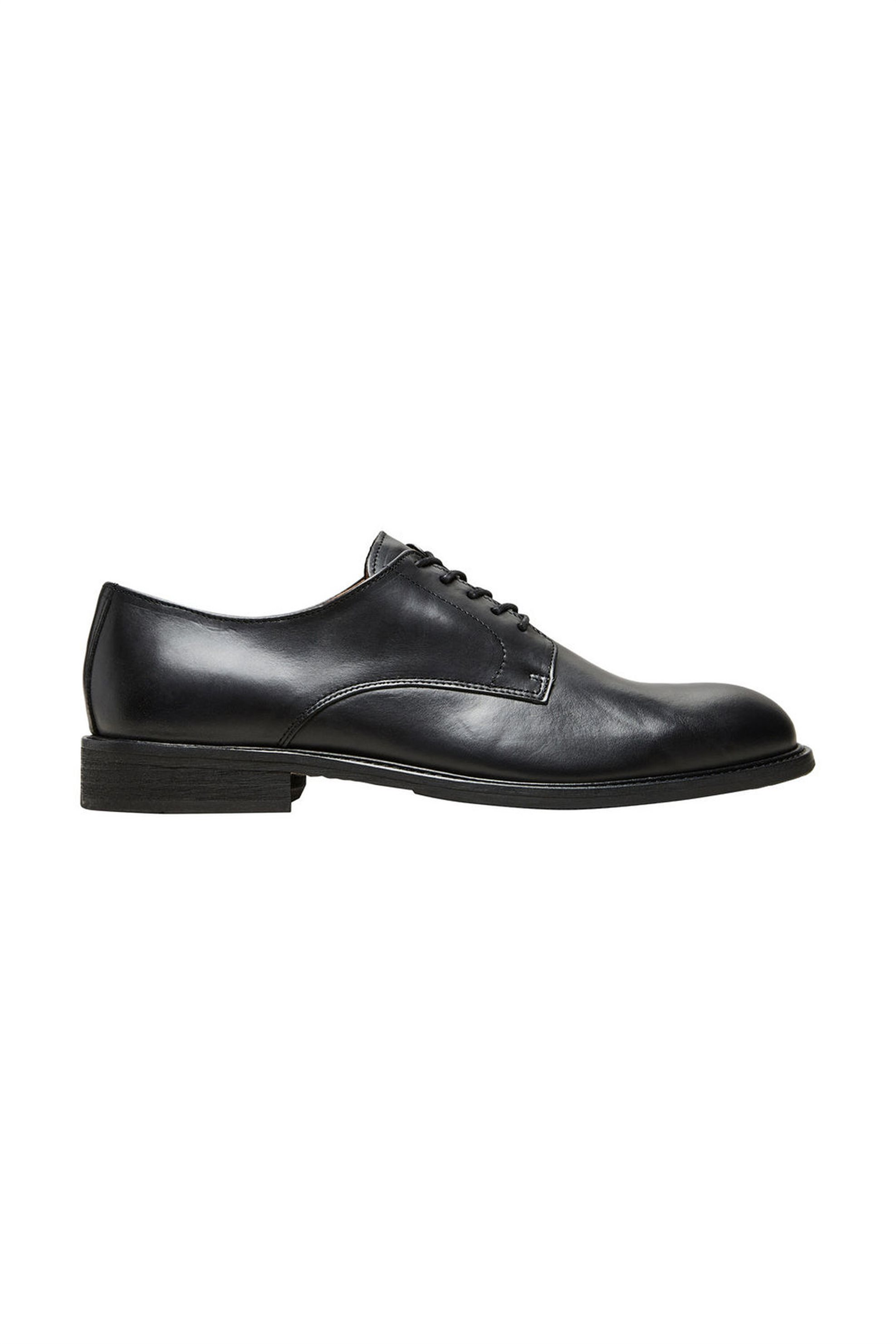 SELECTED ανδρικά σκαρπίνια Derby με κορδόνια - 16060381 - Μαύρο ανδρασ   παπουτσια   σκαρπίνια   oxford