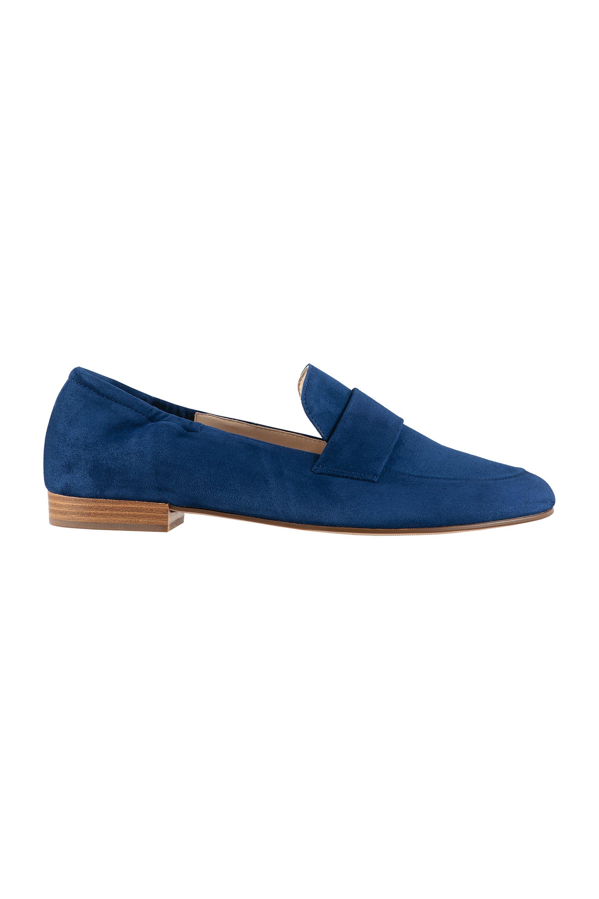 Högl γυναικεία suede loafers