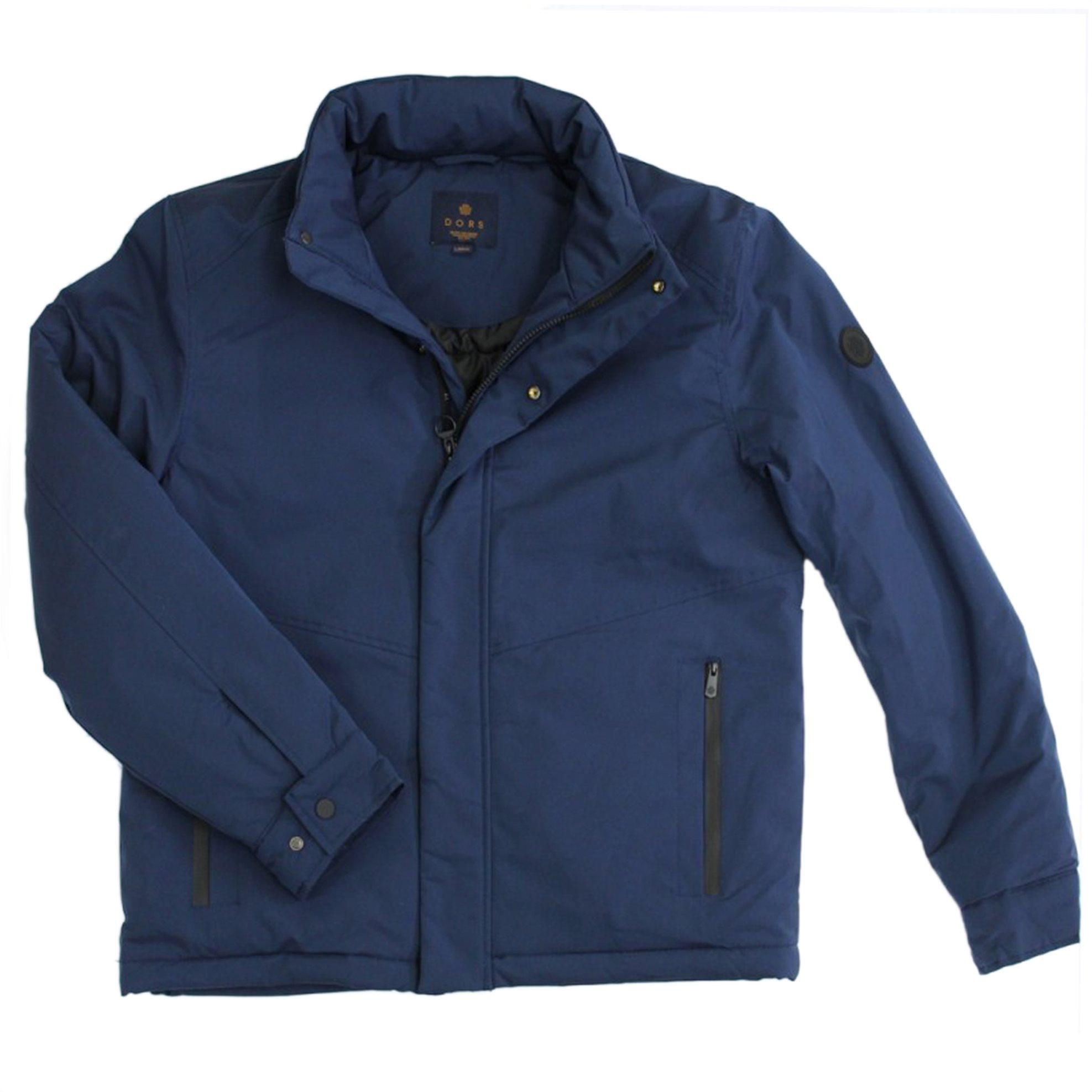 DORS ανδρικό αδιάβροχο μπουφάν με ψηλό γιακά - 3029003.C01 - Μπλε