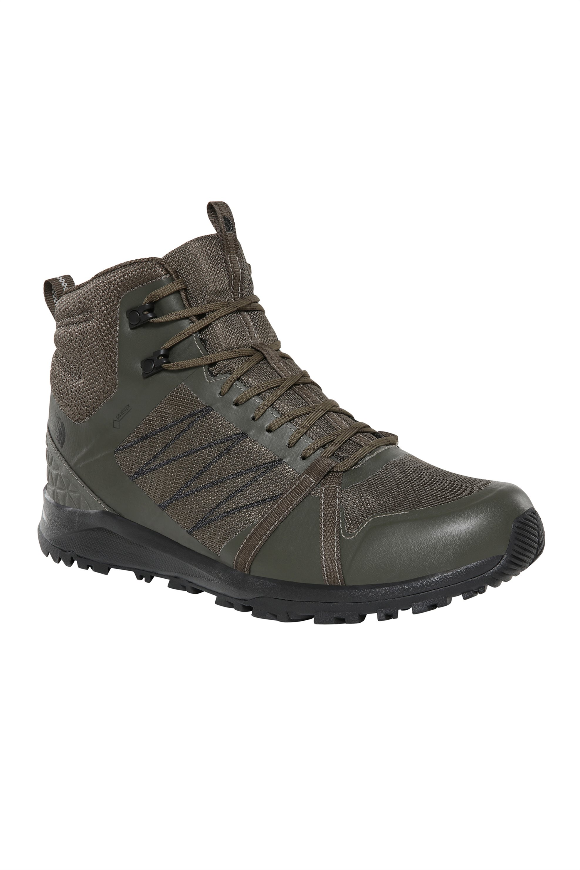 The North Face ανδρικά μποτάκια Litewave Fastpack II Mid GORE-TEX® – NF0A3REBBQW1 – Λαδί