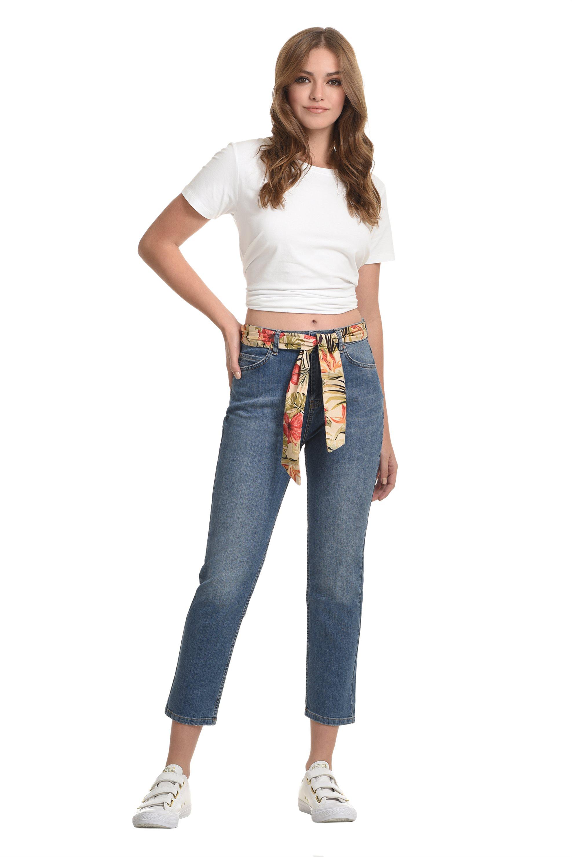 Sarah Lawrence Jeans γυναικείο τζην παντελόνι boyfriend - 2-900022 - Μπλε γυναικα   ρουχα   jeans   boyfriend