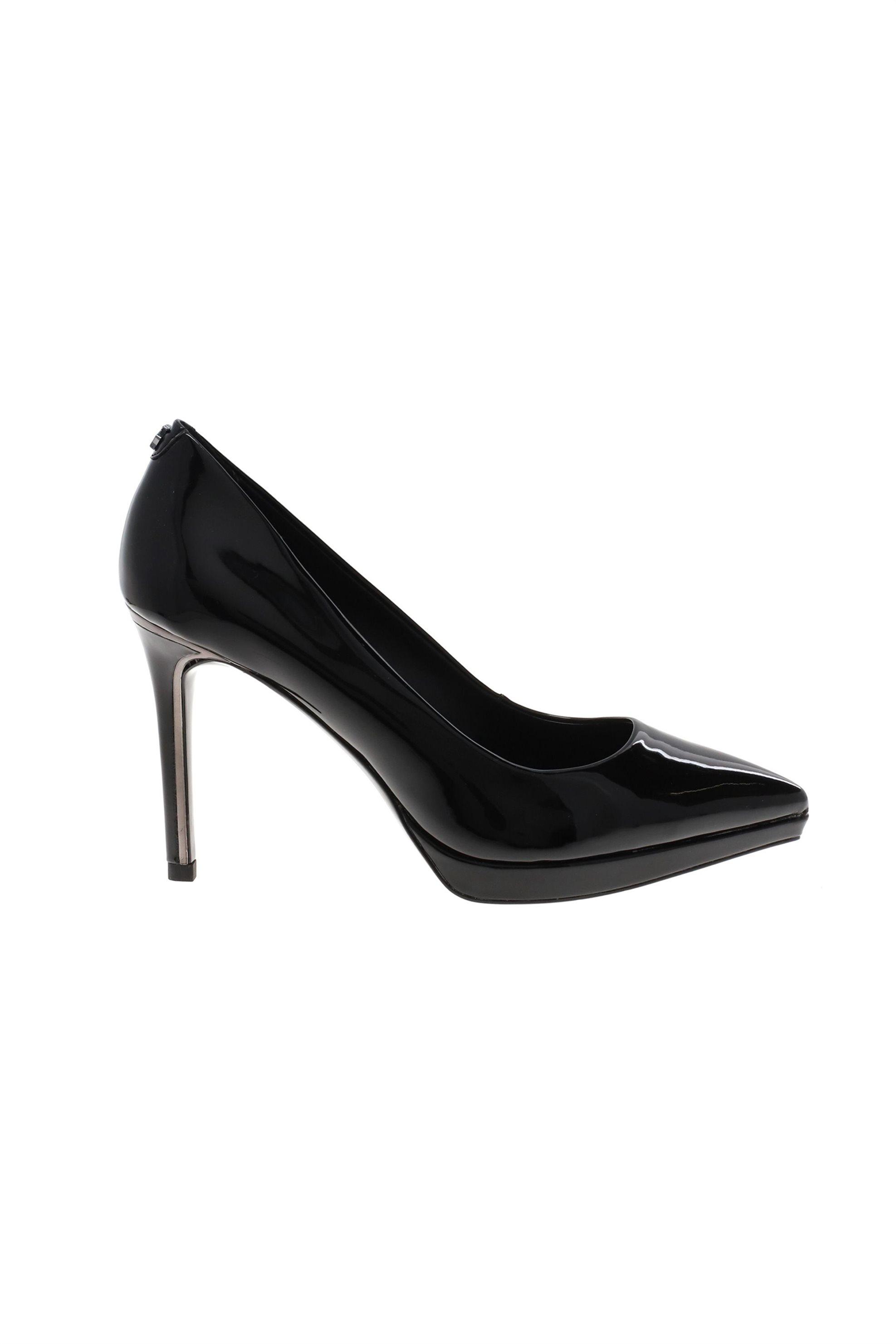 DKNY γυναικεία ψηλοτάκουνη γόβα λουστρίνι μονόχρωμη » Lexi – High Pump» – K2986311 – Μαύρο