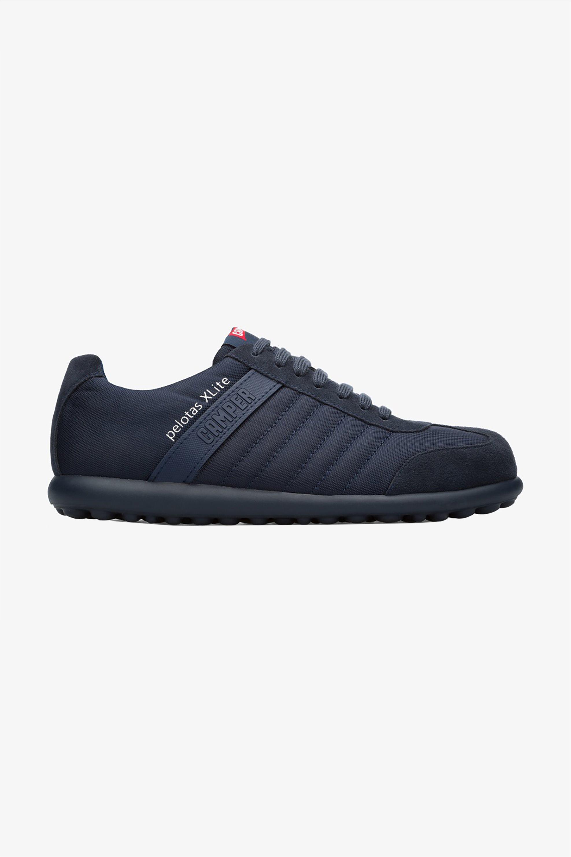 "Camper ανδρικά δερμάτινα sneakers ""Pelotas XLite"" – 18302-074 – Μπλε Σκούρο"
