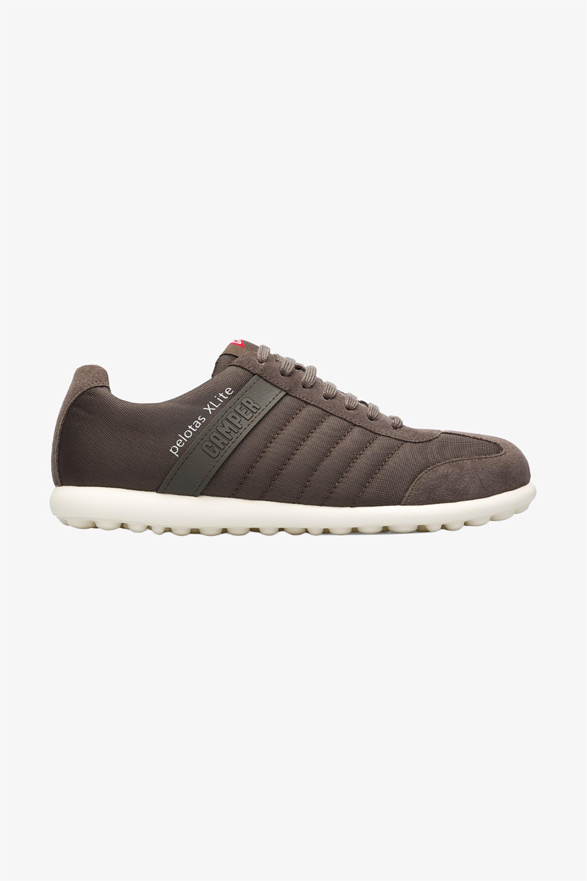 "Camper ανδρικά δερμάτινα sneakers ""Pelotas XLite"" – 18302-124 – Γκρι"