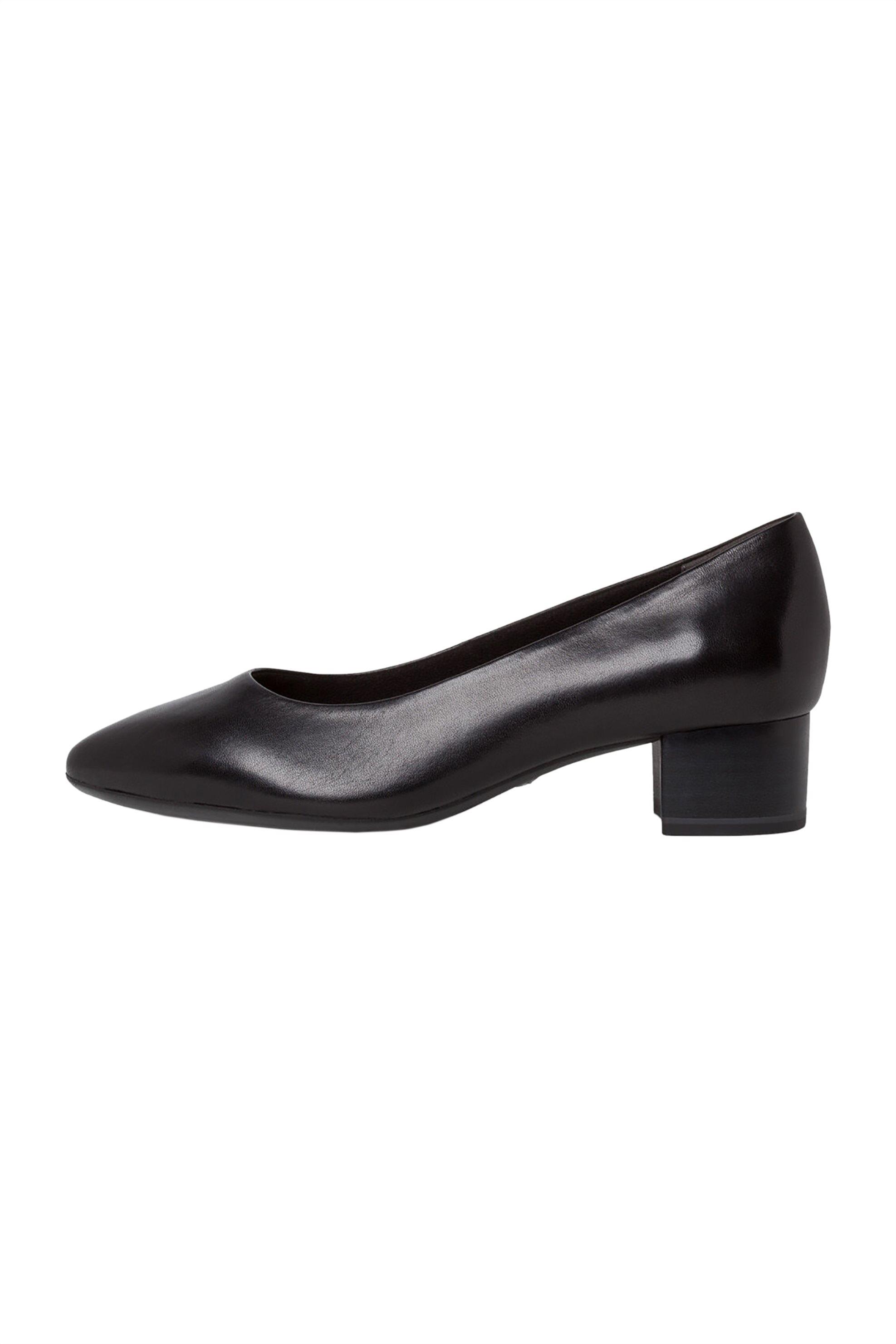 Tamaris γυναικείες γόβες με χαμηλό τακούνι – 1-1-22300-25 – Μαύρο