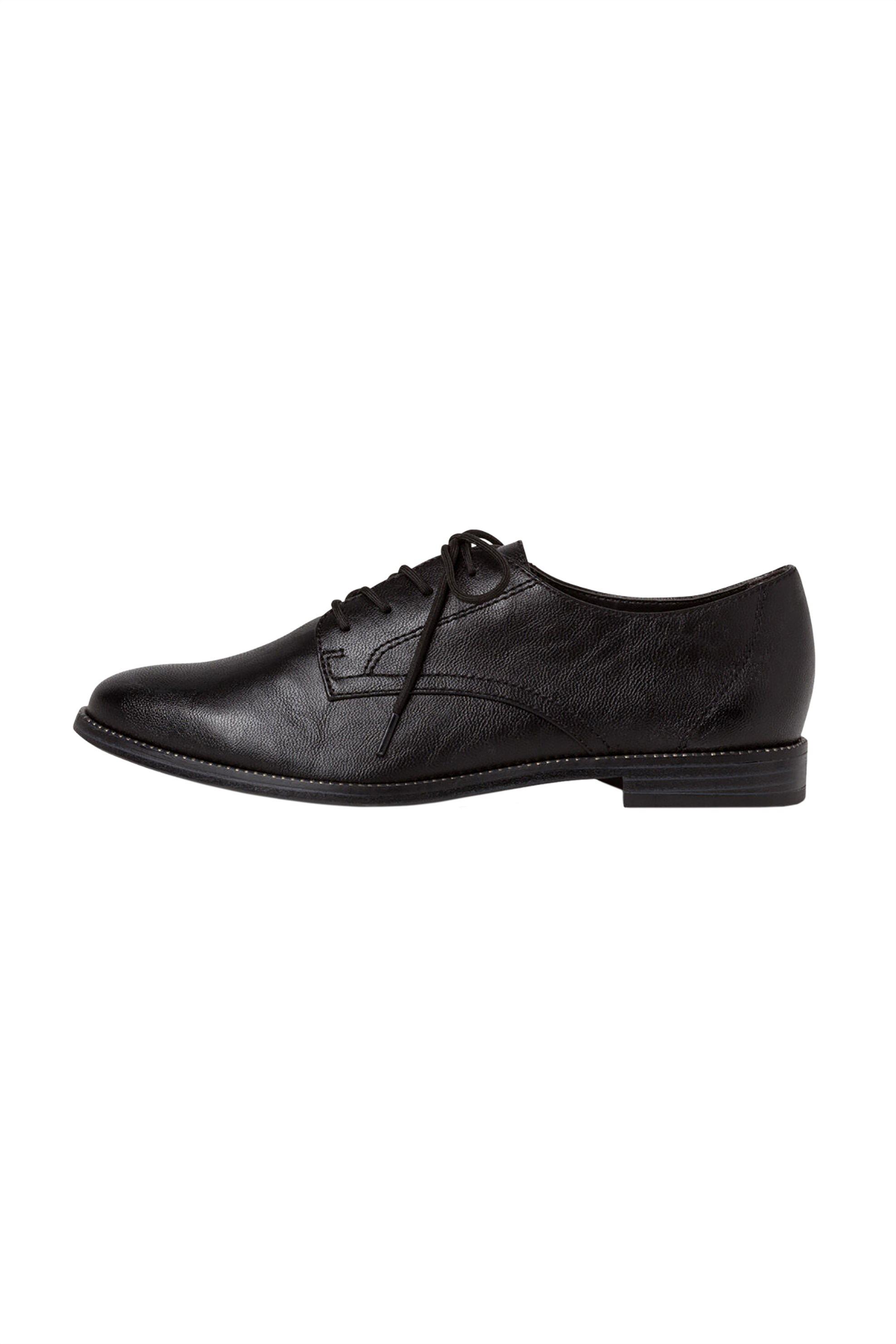 Tamaris γυναικεία παπούτσια oxford με κορδόνια – 1-1-23203-25 – Μαύρο
