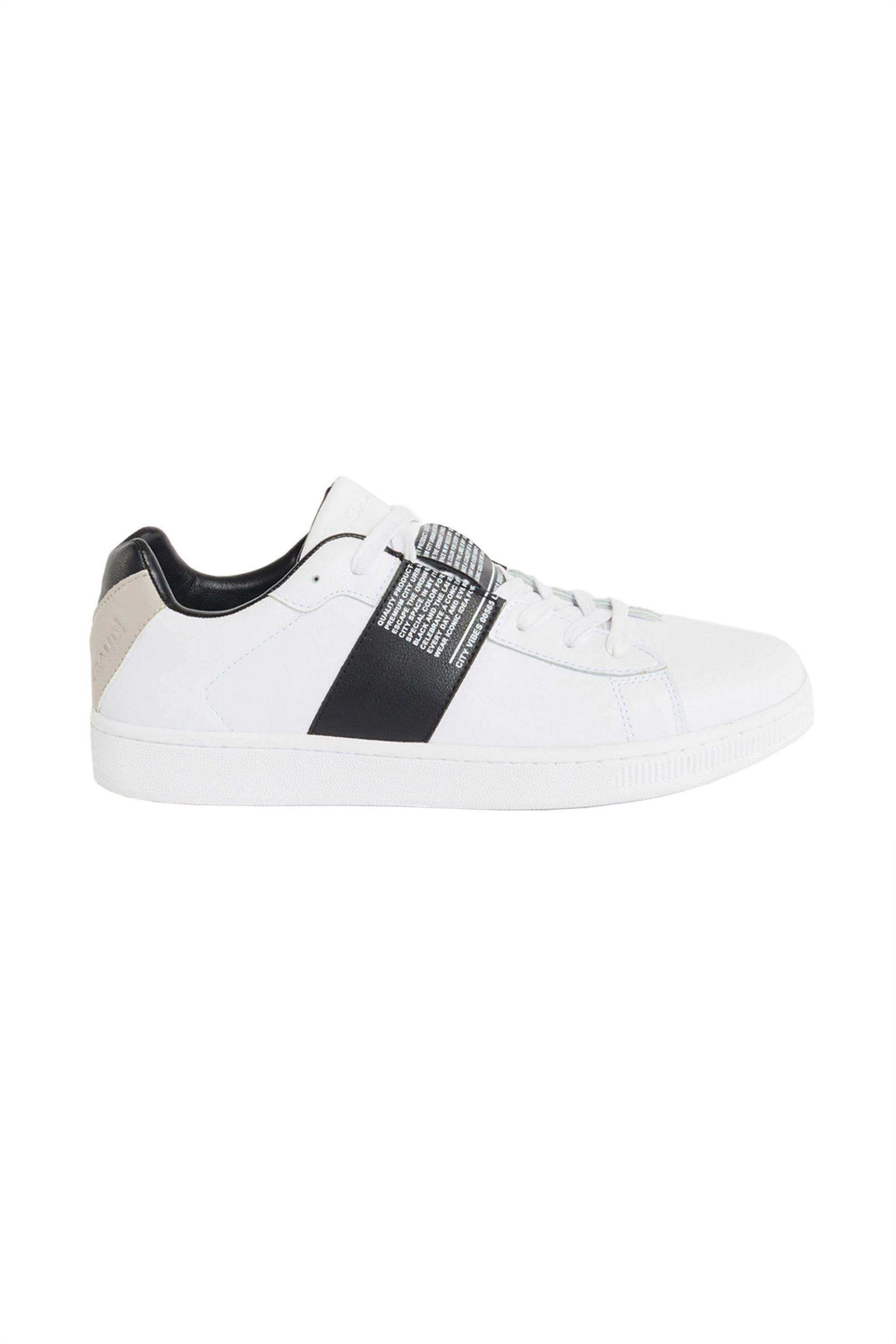 Gaudi ανδρικά sneakers με letter print – V11-61540 – Λευκό