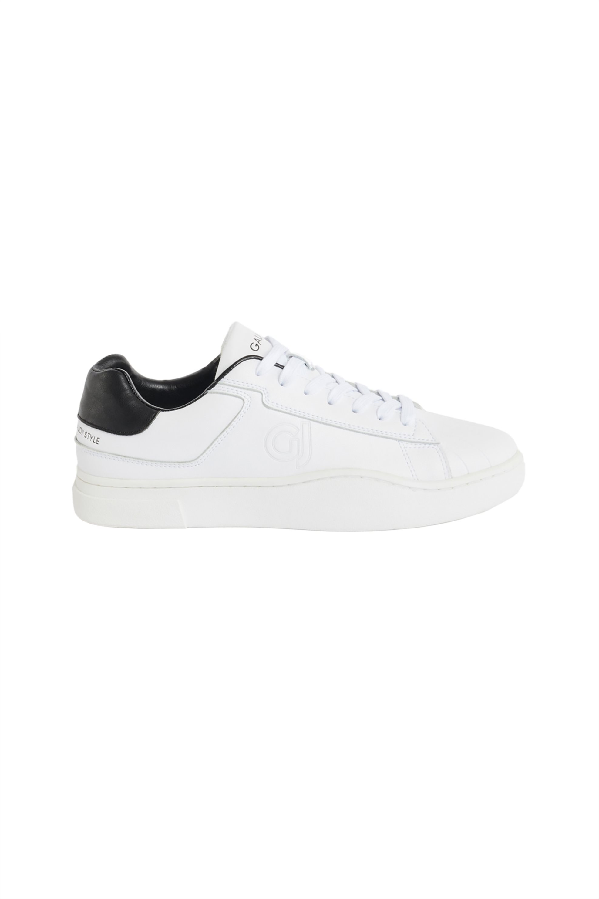 Gaudi ανδρικά sneakers με ανάγλυφο λογότυπο – V11-61462 – Λευκό