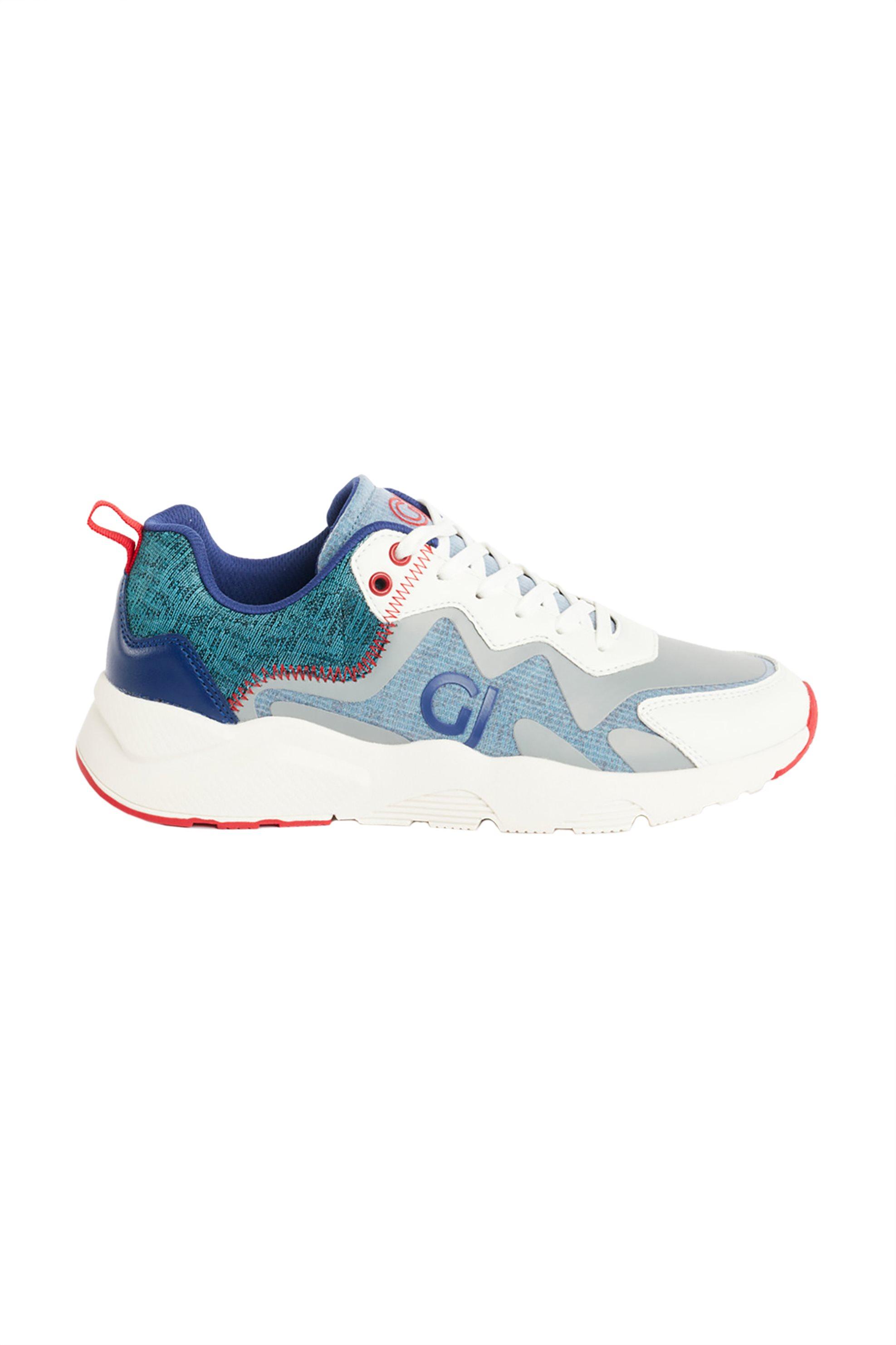Gaudi ανδρικά sneakers με διακοσμητικές ραφές – V11-61521 – Μπλε
