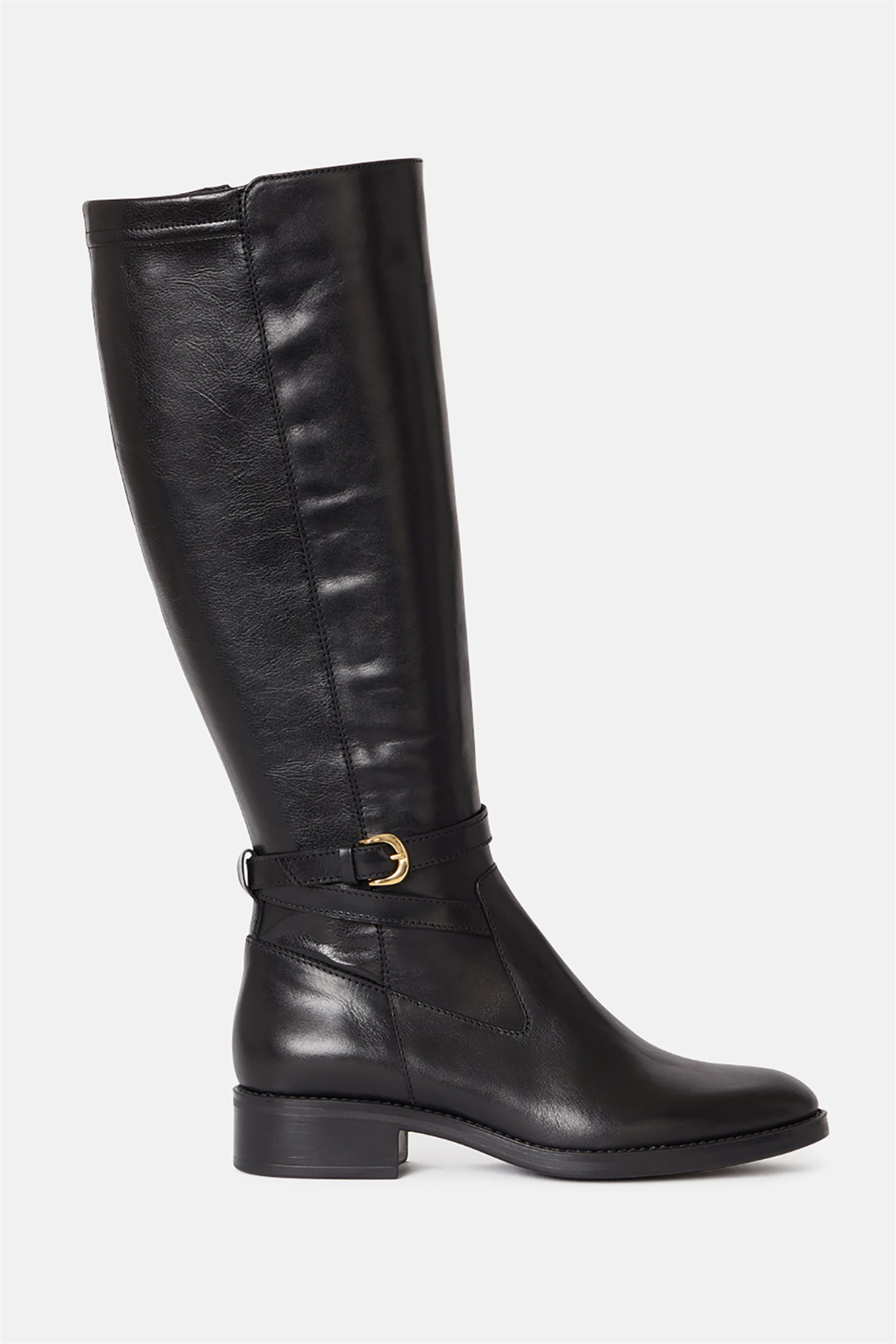 Minelli γυναικείες δερμάτινες μπότες «Madigane» – 828586 – Μαύρο