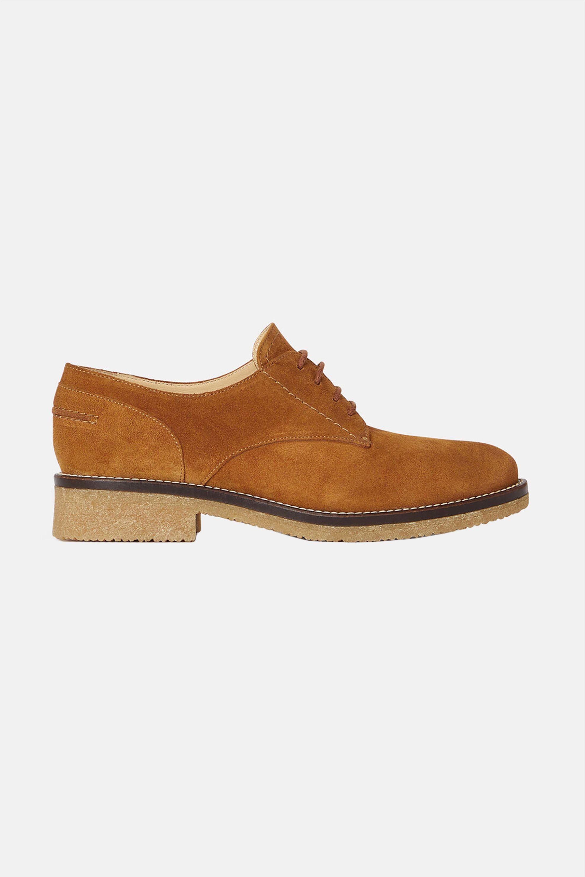 "Minelli γυναικεία suede Oxford παπούτσια ""Lohane"" – 834604 – Ταμπά"