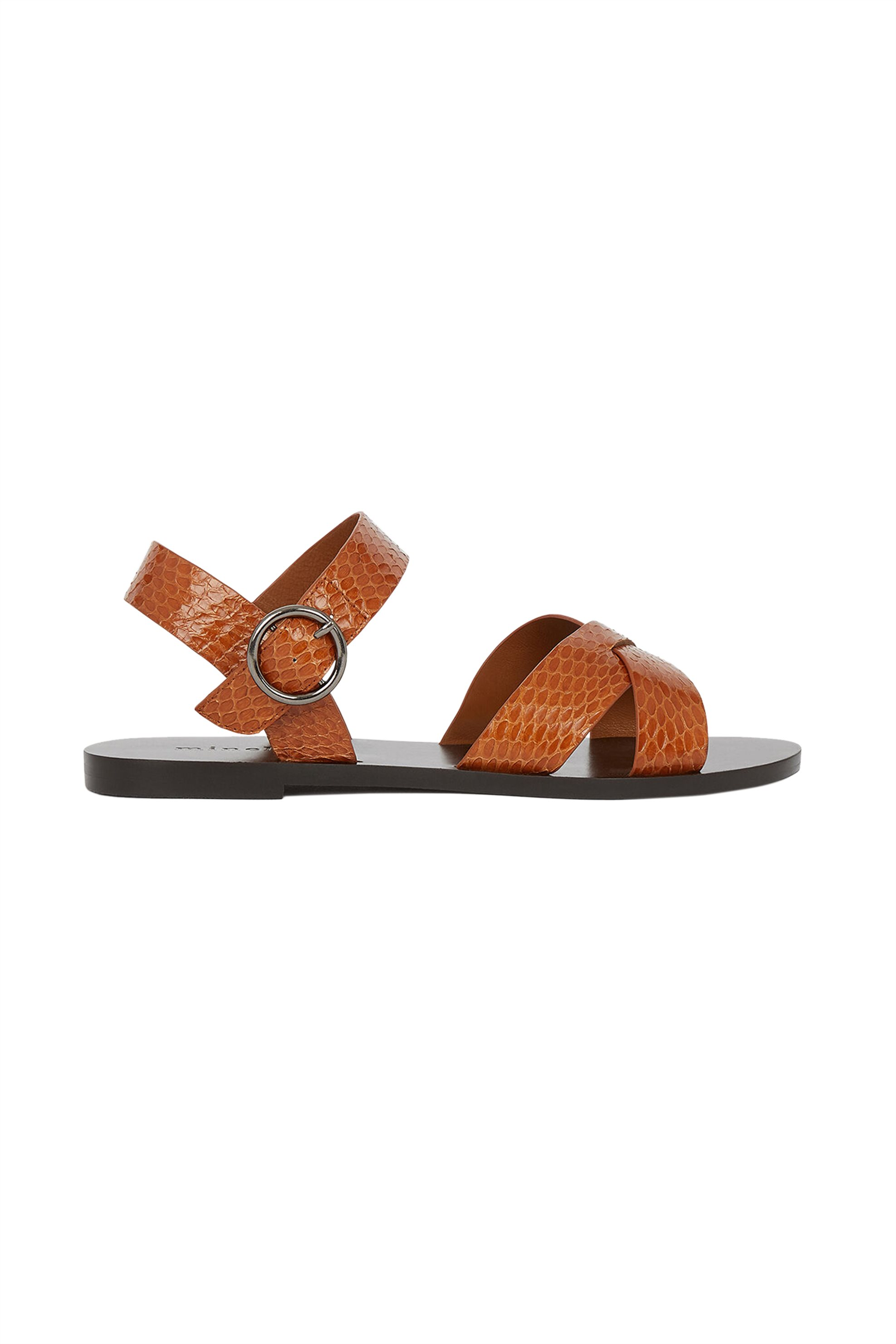 Minelli γυναικεία σανδάλια με crossover straps ''Naemi'' - 835784 - Ταμπά