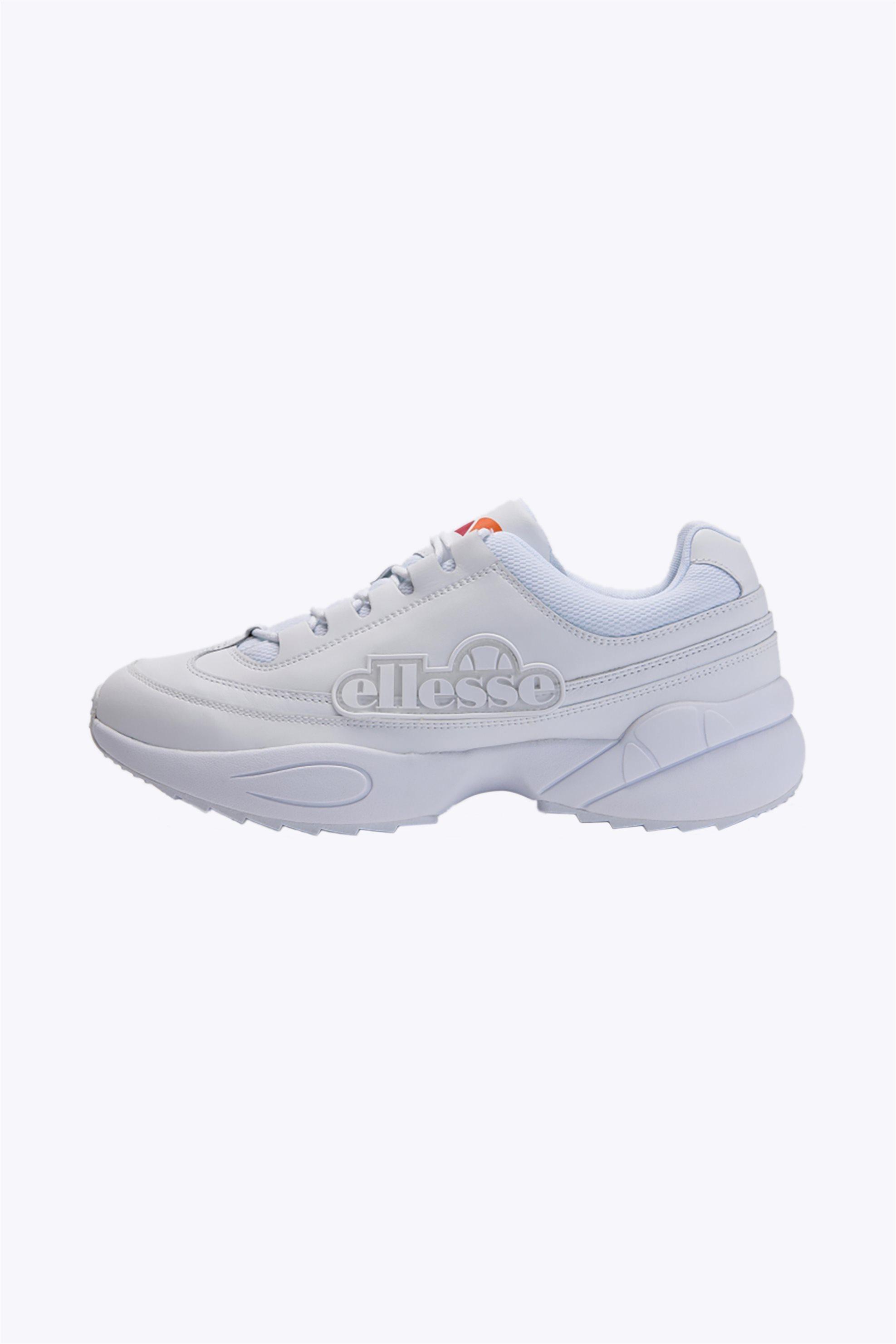 "Ellesse ανδρικά δερμάτινα sneakers ""Sparta"" – 613656 – Λευκό"