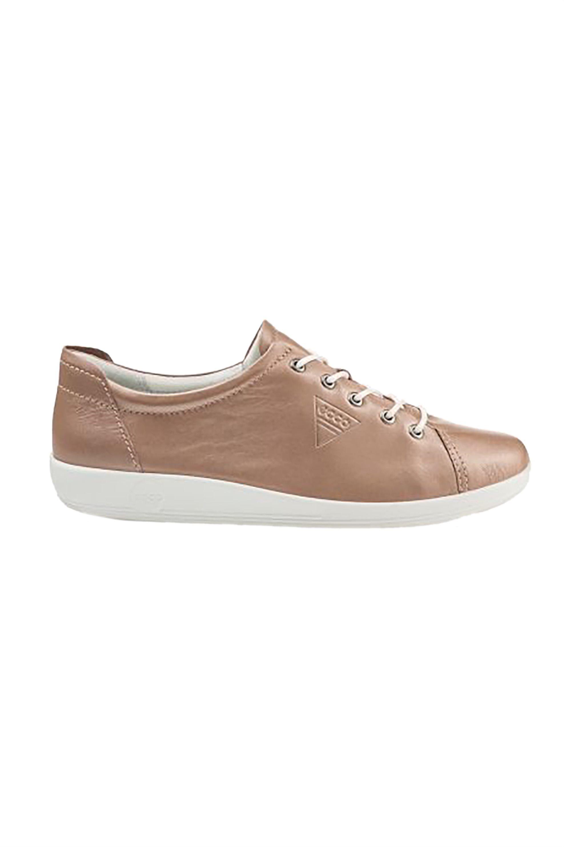 ECCO γυναικεία δερμάτινα sneakers με κορδόνια – 120989-206503 514 – Χρυσό