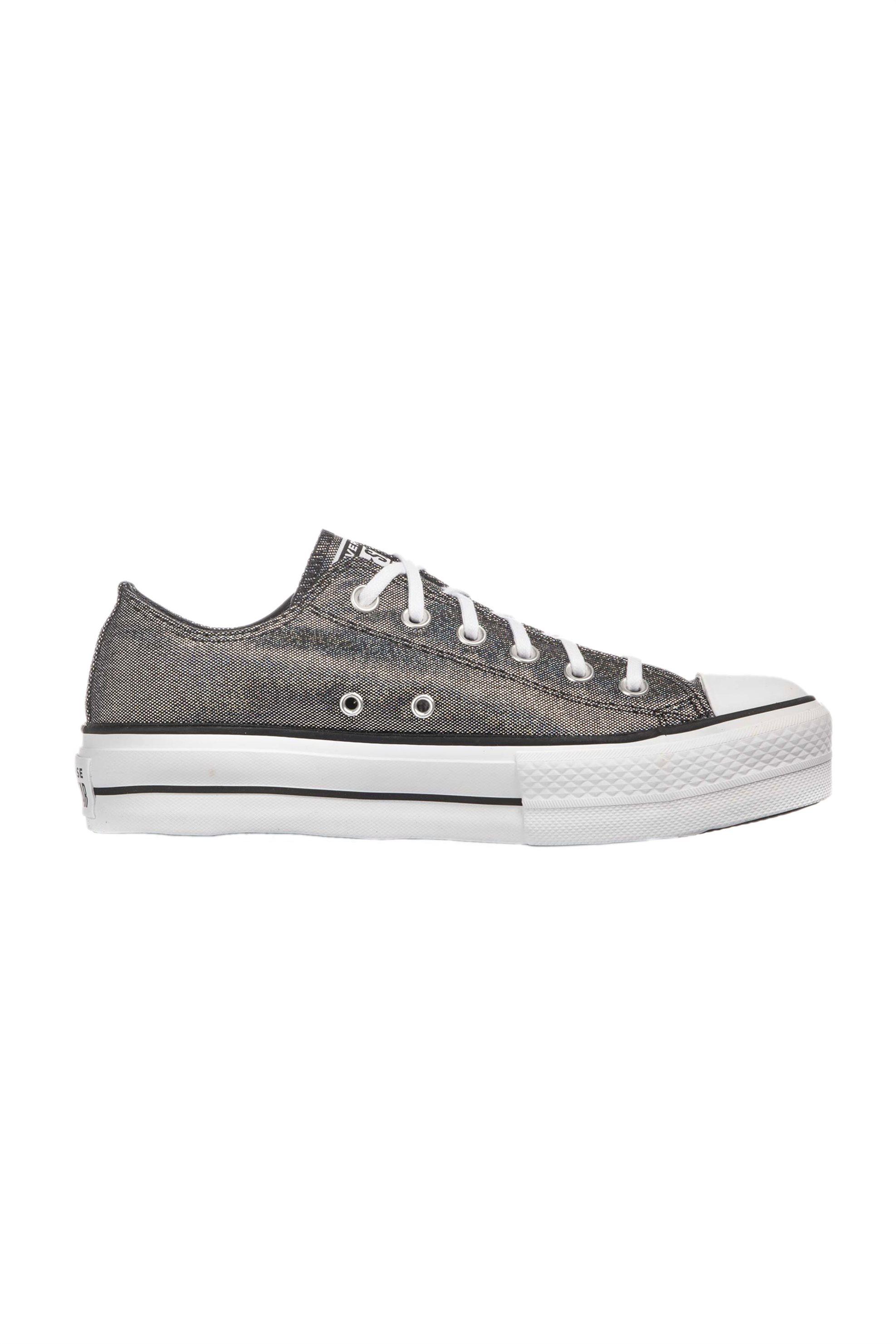 Converse γυναικεία chunky sneakers μεταλλιζέ