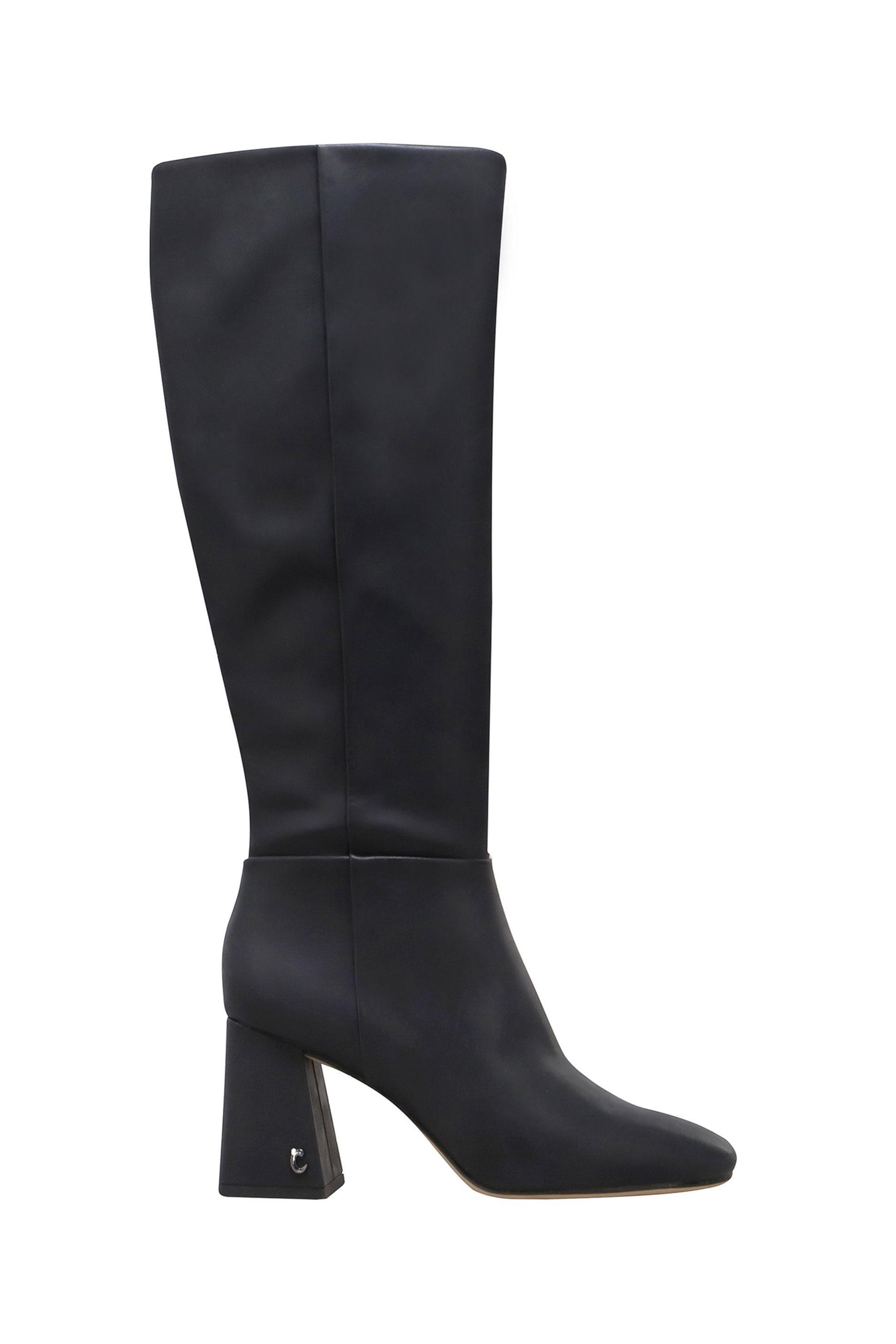 "Circus by Sam Edelman γυναικείες μπότες με χοντρό τακούνι ""Karina"" – H4124S1001 – Μαύρο"