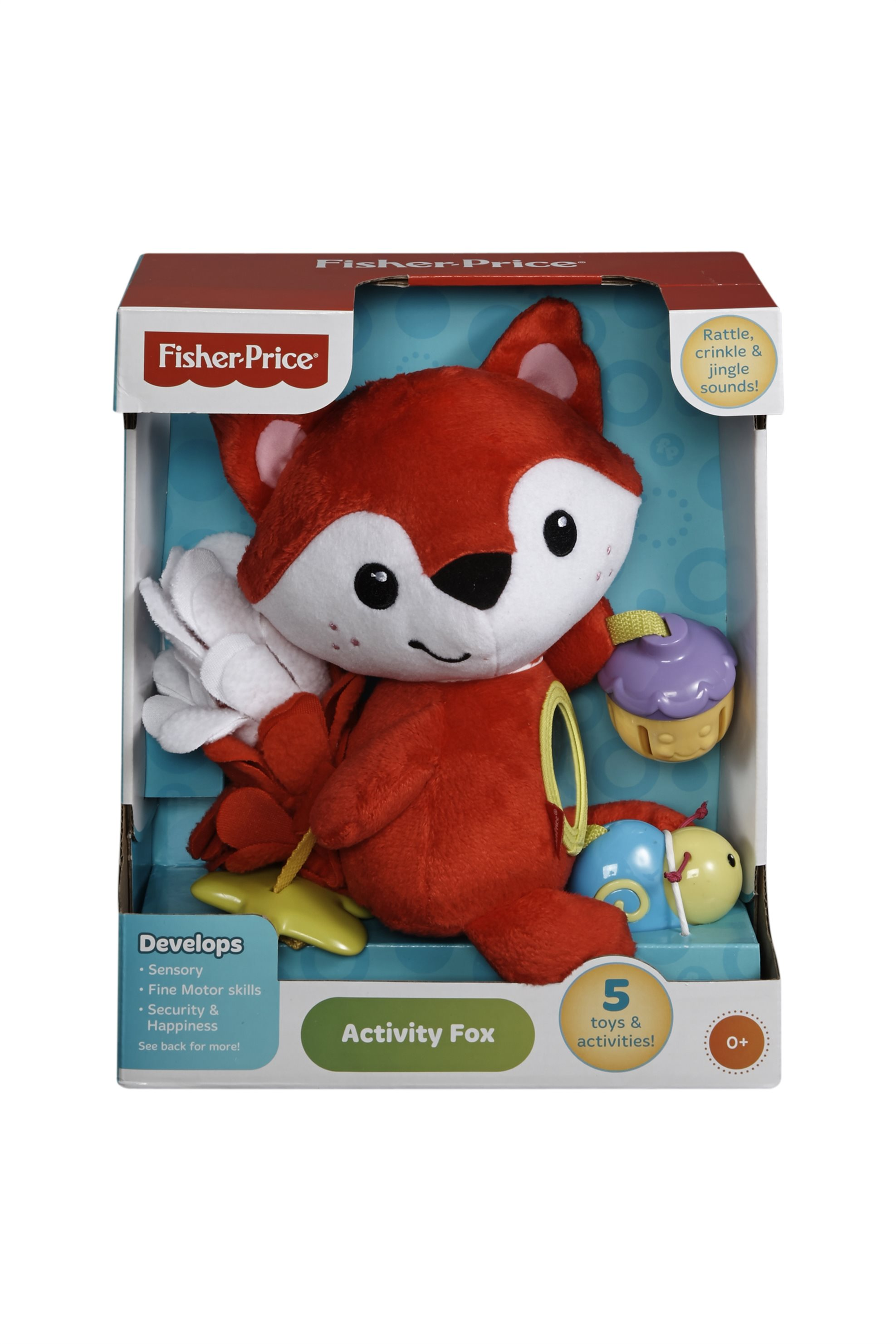 Μαλακή Αλεπού Fisher - Price - CDN56 παιδι   παιχνιδια   αρκουδάκια   λούτρινα   bebe