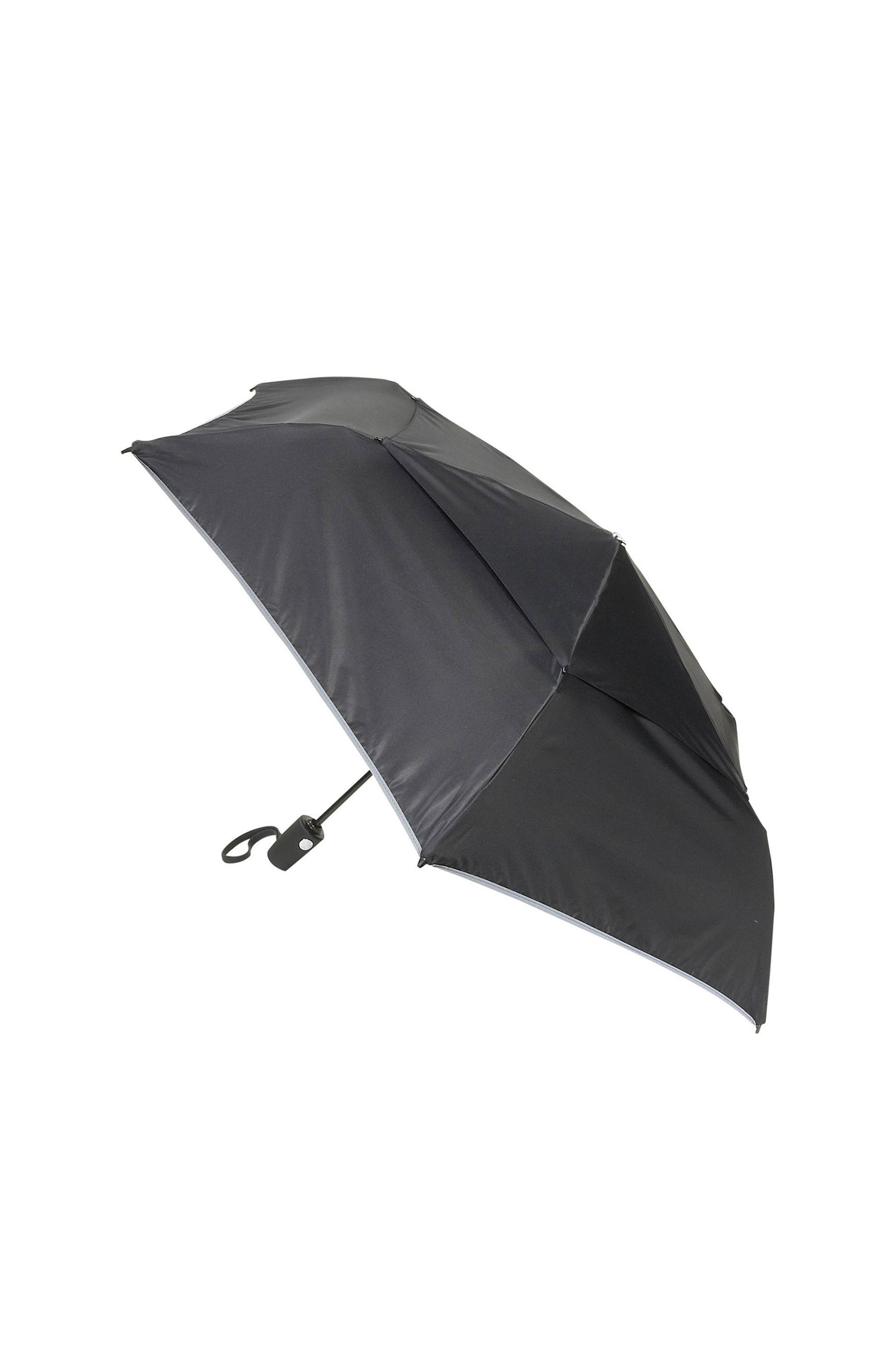 Tumi unisex αυτόματη ομπρέλα μονόχρωμη με θήκη - 464.014415D