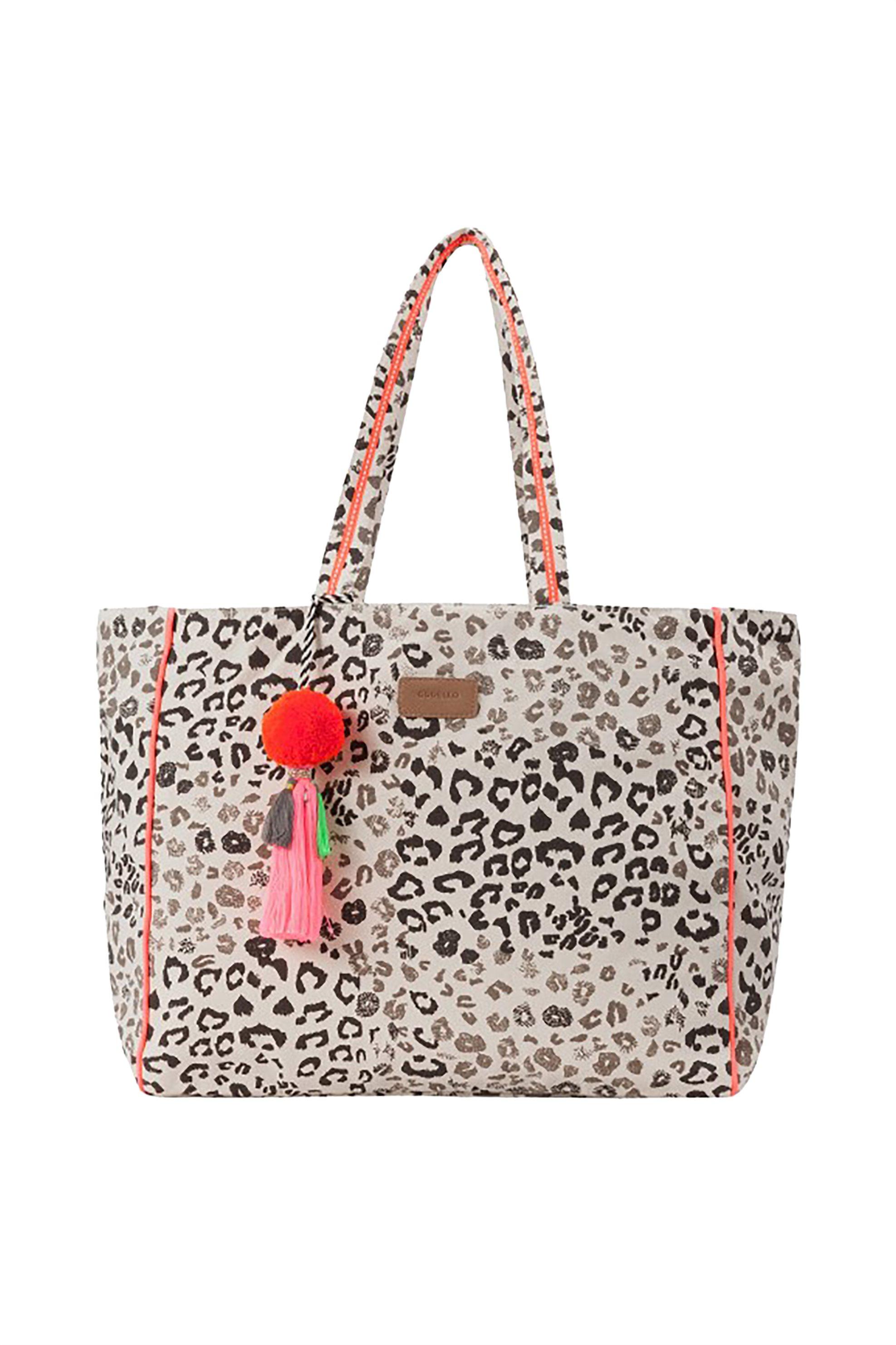Codello γυναικεία τσάντα shopper με animal print - 4043072802468 γυναικα   τσαντεσ   ώμου   shopper bags