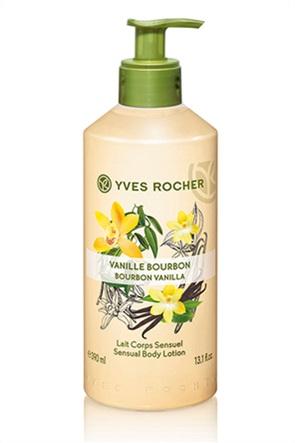 Yves Rocher Sensual Body Lotion Bourbon Vanilla 390 ml