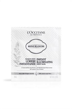 L'Occitane Reine Blanche Instant Illuminating Sheet Mask 26 gr