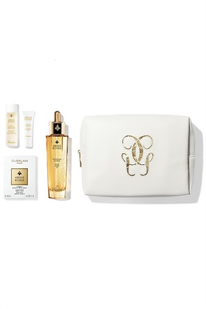 Guerlain Abeille Royale Age-Defying Oil Set 72_8 ML Fortifying Lotion with Royal Jelly 15 ml & Multi-Wrinkle Minimizer Eye Cream 3 ml & Youth Watery Oil 50 ml & Double R Renew & Repair Serum (8 x 0.6 ml)