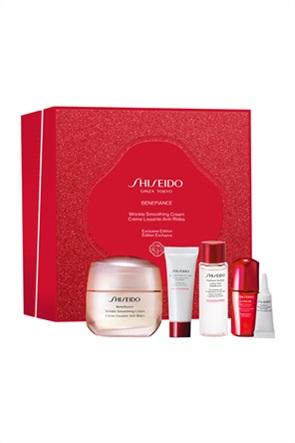 Shiseido Benefiance Wrinkle Smoothing Cream Kit 50 ml