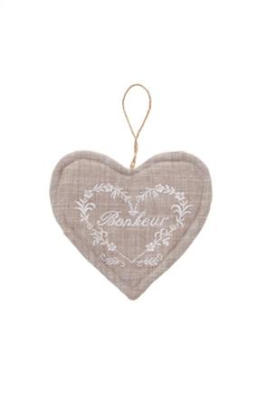 Πιαστράκι κουζίνας σε σχήμα καρδιάς 15 x 15 cm Coincasa