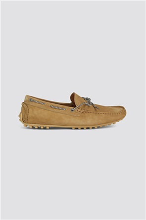 Trussardi Jeans ανδρικά loafers suede