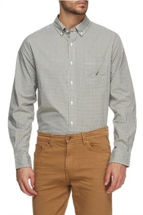 Nautica ανδρικό πουκάμισο button-down με καρό σχέδιο