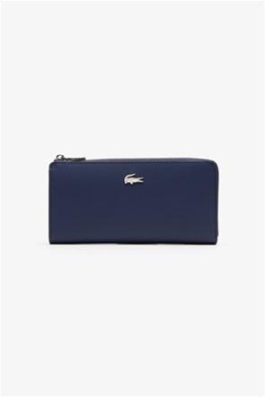 Lacoste γυναικείο πορτοφόλι ''Piqué Canvas 10 Card Zip''