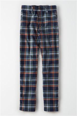 AE Super High-Waisted Plaid Skinny Pant