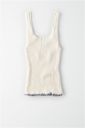 AE Ribbed Cropped Sweater Tank top