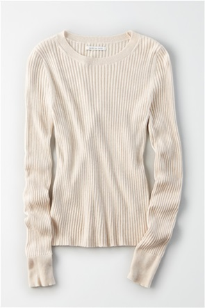 AE Ribbed Pullover Sweater