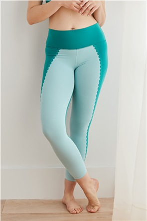 Aerie Play Scallop High Waisted 7/8 Legging