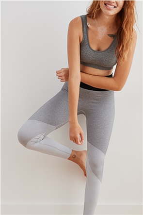 Aerie Move Color Block High Waisted 7/8 Legging