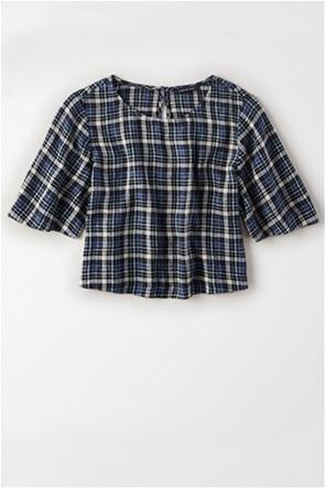 AE Plaid Short Sleeve Shirt