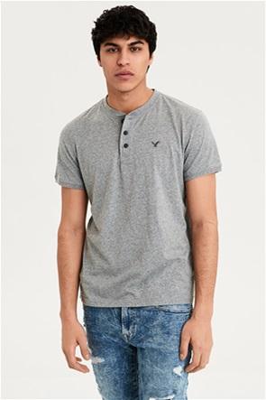 AE Logo Slub Henley T-Shirt