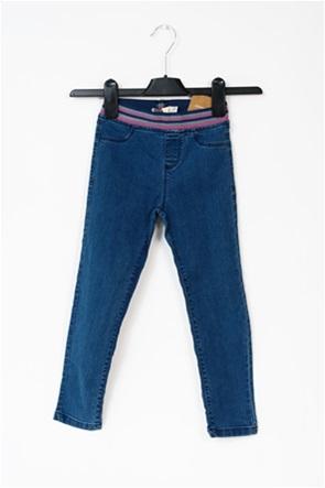 OVS παιδικό τζην παντελόνι με ριγέ λάστιχο (3-10 ετών)