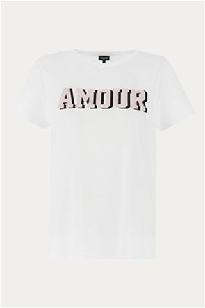 "Emme by Marella γυναικείο T-shirt με print ""Arnes"""
