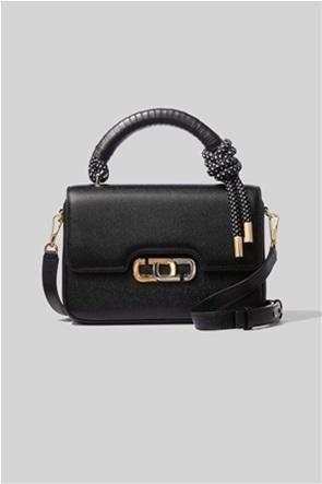 "Marc Jacobs γυναικεία τσάντα χειρός με μεταλλικό logo ""The J Link"""