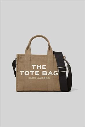"Marc Jacobs γυναικεία τσάντα χειρός με logo print ""The Mini Tote"""