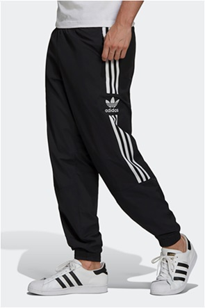 "Adidas ανδρικό παντελόνι φόρμας με logo stripes ""Adicolor Classics Lock Up Trefoil"""