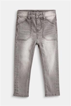 Esprit παιδικό παντελόνι τζην ξεβαμμένο με εσωτερικό λάστιχο