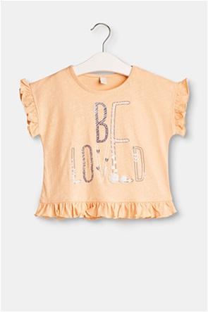Esprit παιδικό T-shirt με 3D print (2-9 ετών)