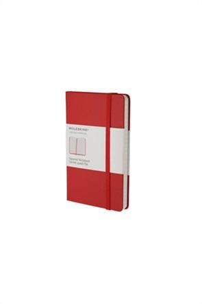 Moleskine σημειωματάριο Squared Pocket